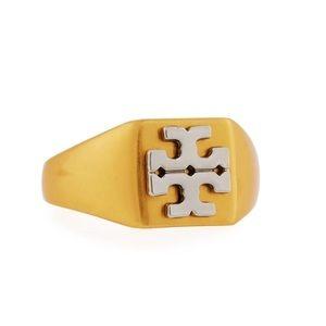 Tory Burch • Block T Gold Ring